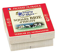 Square brie Isigny