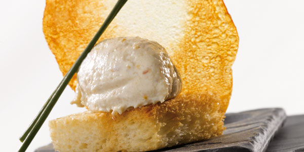 Spreadable cod brandade